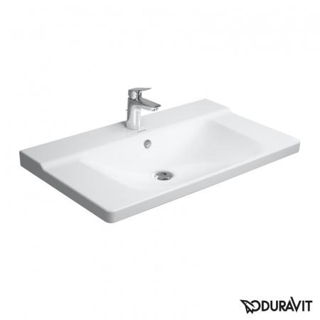 Duravit P3 Comforts Umywalka meblowa 85x50 cm 1-otworowa, biała 2332850000