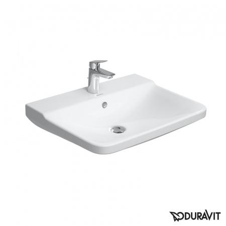 Duravit P3 Comforts Umywalka wisząca 55x45,5 cm 1-otworowa z przelewem, biała 2331550000