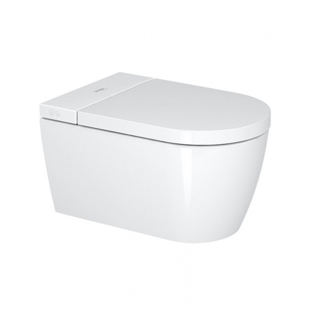 Duravit Sensowash Starck F Lite Toaleta WC myjąca podwieszana 37,8x57,5 cm Rimless bez kołnierza, biała 650001012004310
