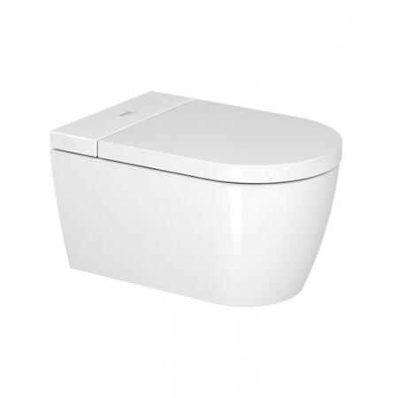 Duravit Sensowash Starck F Plus Toaleta WC myjąca podwieszana 37,8x57,5 cm Rimless bez kołnierza, biała 650000012004320