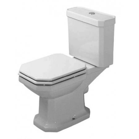 Duravit 1930 Toaleta WC kompaktowa 66,5x35,5 cm odpływ poziomy, biała 0227090000