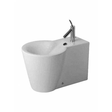 Duravit Starck 1 Bidet stojący 41x64 cm, z przelewem, biały z powłoką WonderGliss 02741000001