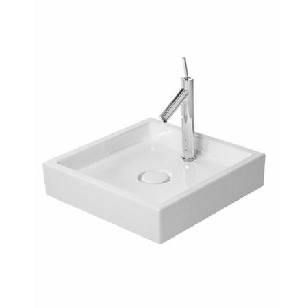 Duravit Starck 1 Umywalka stawiana na blat Ø47 cm, z jednym otworem na baterię, biała 0387470027