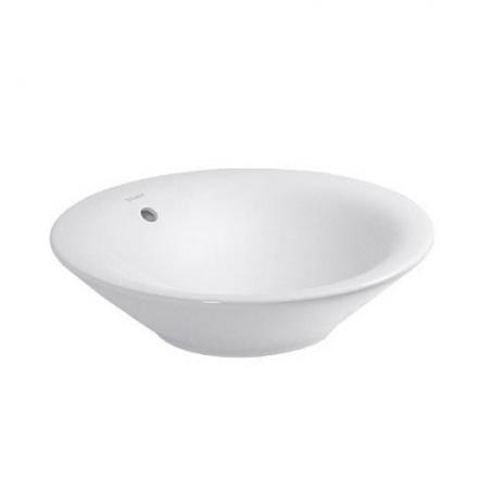 Duravit Starck 1 Umywalka nablatowa 53 cm, biała z powłoką WonderGliss 04085300001