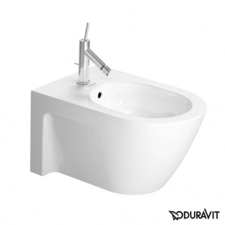 Duravit Starck 2 Bidet podwieszany 37x54 cm, z przelewem, biała 2271150000