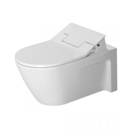 Duravit Starck 2 Toaleta WC podwieszana 62x37,5 cm z powłoką Wondergliss, biała 25335900001
