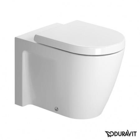 Duravit Starck 2 Miska WC stojąca 37x57 cm, lejowa, biała z powłoką WonderGliss 21280900001