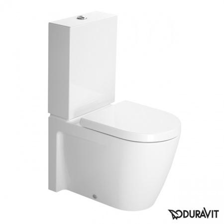 Duravit Starck 2 Miska WC stojąca 37x63 cm, lejowa, biała z powłoką WonderGliss 21450900001