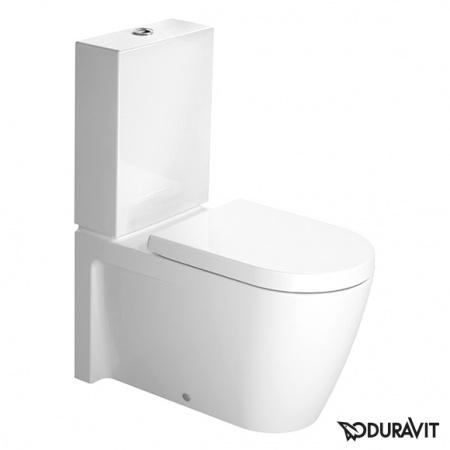 Duravit Starck 2 Miska WC stojąca 37x72,5 cm, lejowa, biała z powłoką WonderGliss 21290900001