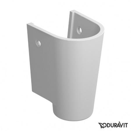 Duravit Starck 2 Półpostument 17,5x18,5 cm, biały z powłoką WonderGliss 08638300001