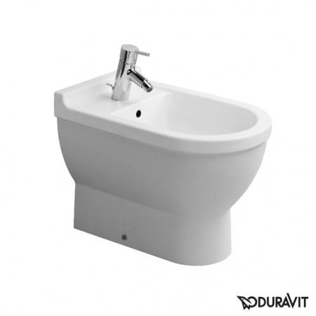 Duravit Starck 3 Bidet stojący 36x56 cm, z jednym otworem na baterię, biały 2230100000