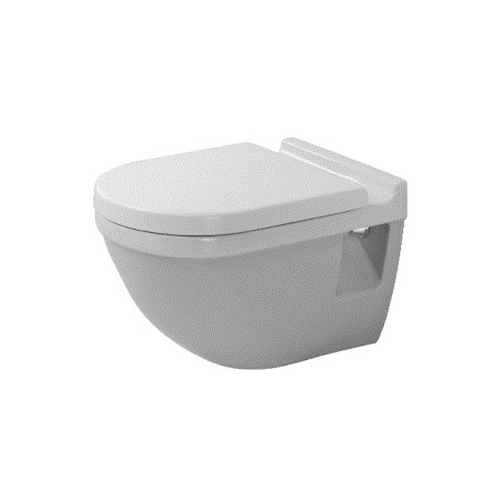 Duravit Starck 3 Miska WC podwieszana 36x54 cm z półką, biała z powłoką WonderGliss 22010900001