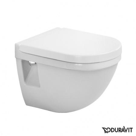 Duravit Starck 3 Toaleta WC podwieszana 36x48,5 cm Compact krótka, biała 2202090000
