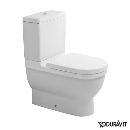 Duravit Starck 3 Miska WC stojąca 36x65,5 cm, lejowa, biała 0128090000