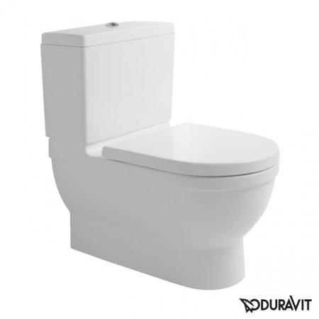 Duravit Starck 3 Miska WC stojąca Big Toilet 42x74 cm, lejowa, biała 2104090000