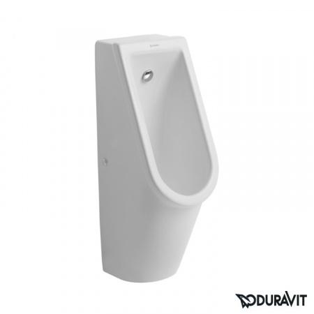 Duravit Starck 3 Pisuar 24,5x30 cm, dopływ osłonięty, model bez muchy, biały 0827250000