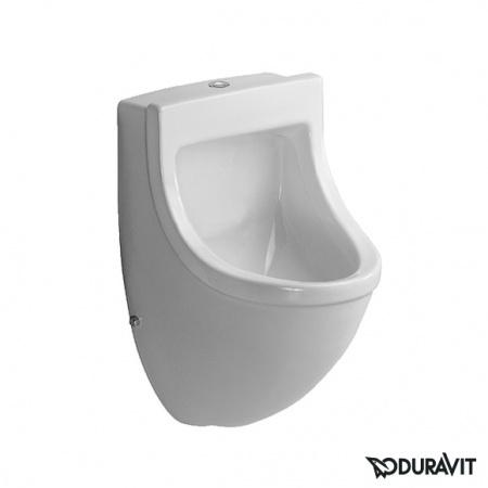 Duravit Starck 3 Pisuar 33x35 cm, dopływ z góry, model bez muchy, biały z powłoką WonderGliss 08223500001