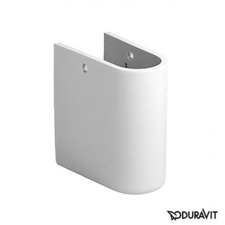 Duravit Starck 3 Półpostument 17x28,5 cm, biały z powłoką WonderGliss 08651500001