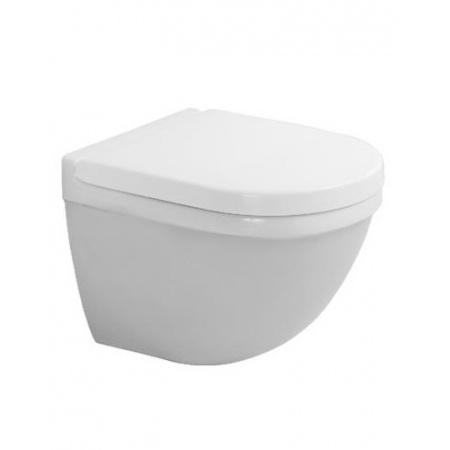Duravit Starck 3 Toaleta WC podwieszana 48,5x36 cm Compact krótka HygieneGlaze, biała 2227092000