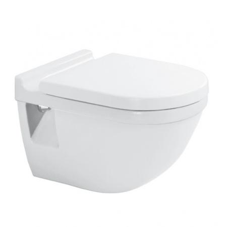 Duravit Starck 3 Toaleta WC podwieszana 54x36 cm HygieneGlaze z półką, biała 2201092000