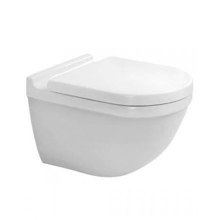 Duravit Starck 3 Toaleta WC podwieszana 54x36 cm Rimless bez kołnierza HygieneGlaze, biała 2527092000