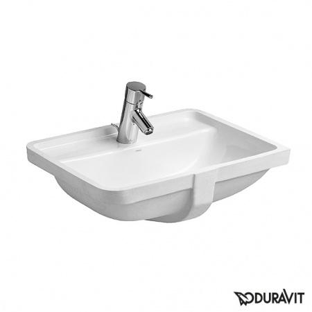 Duravit Starck 3 Umywalka podblatowa 49x36,5 cm, z jednym otworem na baterię, biała 0302490000