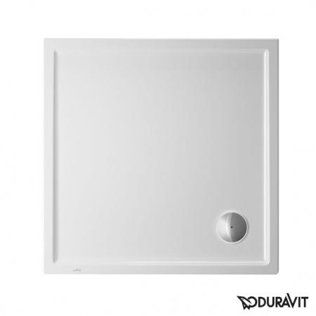 Duravit Starck Slimline Brodzik kwadratowy 80x80 cm, biały z powłoką Antislip 720114000000001