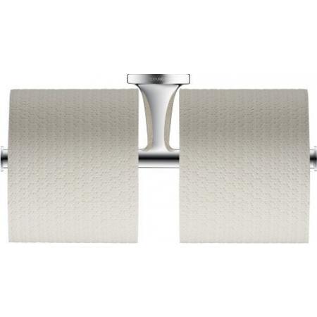 Duravit Starck T Uchwyt na papier toaletowy podwójny, chrom 0099381000