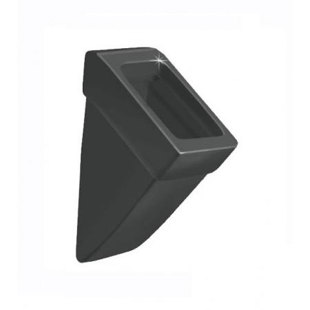 Duravit Vero Pisuar 29,5x32 cm, wersja bez pokrywy, czarny z powłoką WonderGliss 28003208001