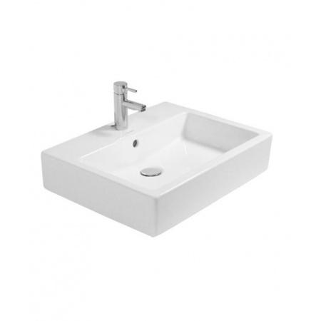 Duravit Vero Umywalka nablatowa 59,5x46,5 cm z otworem na baterię, biały 0452600000