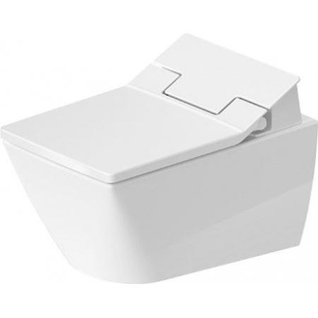 Duravit Viu Toaleta WC myjąca podwieszana do SensoWash 37x57 cm Rimless bez kołnierza, biała z powłoką HygieneGlaze 2511592000