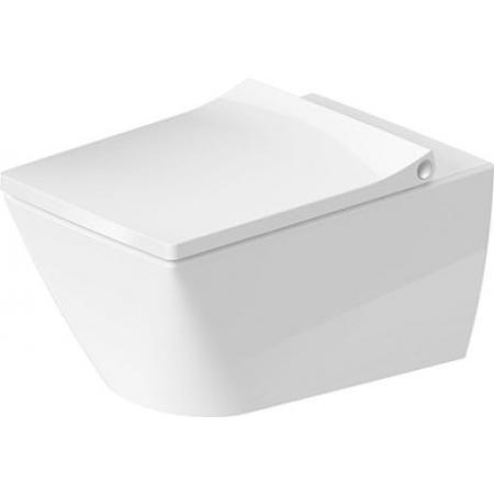Duravit Viu Toaleta WC podwieszana 37x57 cm Rimless bez kołnierza, biała z powłoką HygieneGlaze 2511092000