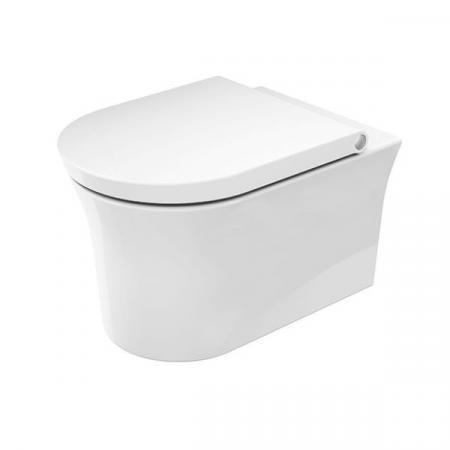 Duravit White Tulip Toaleta WC 54x37 cm bez kołnierza z powłoką biała 2576092000