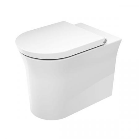 Duravit White Tulip Toaleta WC stojąca 58x37 cm bez kołnierza biała Alpin 2001090000
