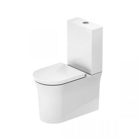 Duravit White Tulip Toaleta WC stojąca 65x37 cm bez kołnierza kompaktowa biała Alpin 2197090000