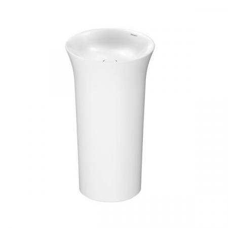 Duravit White Tulip Umywalka wolnostojąca 50 cm biała Alpin 2703500070