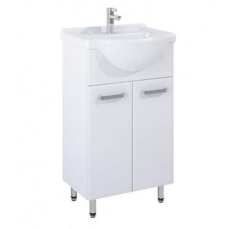 Elita Amigo Set Zestaw Szafka podumywalkowa 47,2x84,1x30,2 cm z umywalką, biały 165409