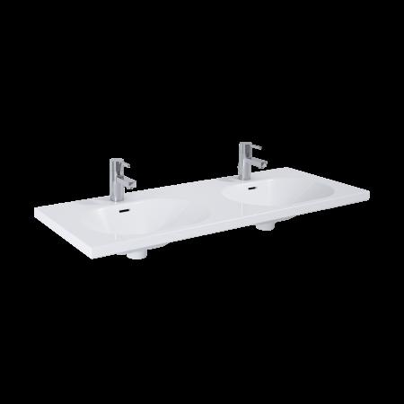 Elita Idea Umywalka meblowa 121x46x14 cm podwójna, biała 145996