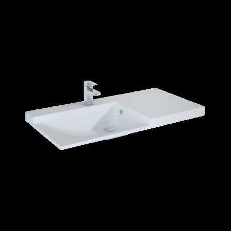 Elita Metis Umywalka meblowa 91,5x50x18 cm konglomeratowa, biała 145590