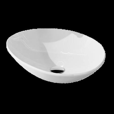 Elita Oxy Umywalka nablatowa 49x41x14 cm, biała 145078