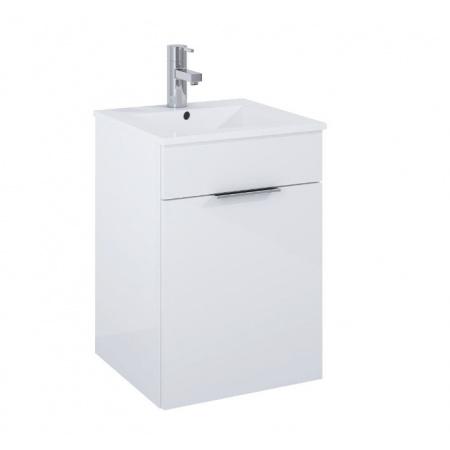 Elita Qubo Plus Szafka podumywalkowa z umywalką 40x40x58 cm, biała 166483