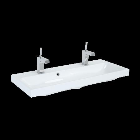 Elita Kwadro Umywalka meblowa 100x40x12,5 cm konglomeratowa, biała 22052011N
