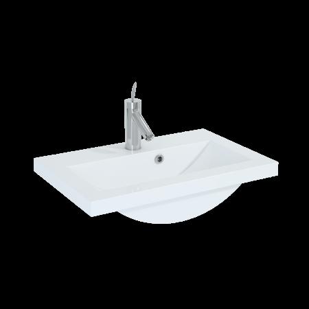 Elita Serenity Umywalka meblowa 60x39x14,5 cm konglomeratowa, biała 22054001ME