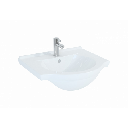 Elita Rio Umywalka meblowa 55x50x19 cm, biała 145655