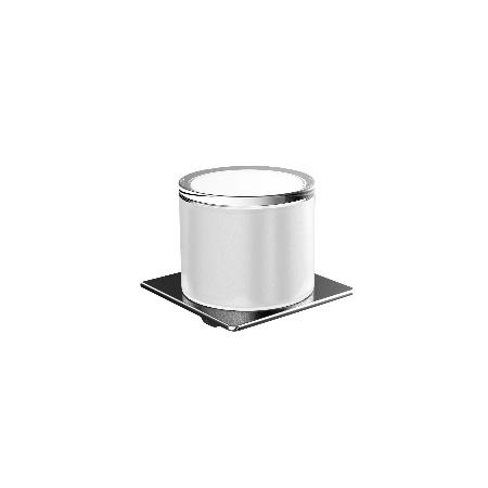 EMCO Art Dozownik na mydło w płynie 10,1x10,1x9,8 cm, chrom 162100102