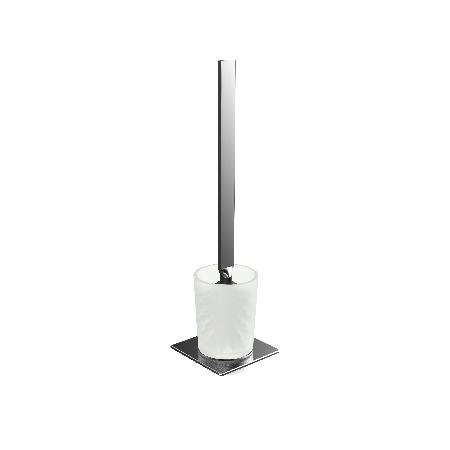 Emco Art Szczotka do WC 10,1x10,1x38,6 cm, chrom 161500102
