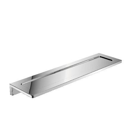 Emco Asio Półka łazienkowa metalowa 31,4x11x1,6 cm, chrom 131020433