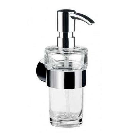 Emco Fino Dozownik do mydła w płynie z uchwytem 6,5x11,5x17,1 cm, chrom 842100102