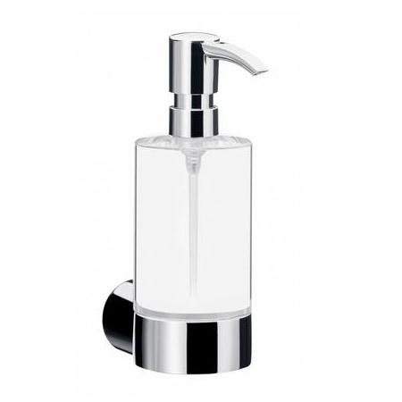 Emco Fino Dozownik do mydła w płynie z uchwytem 6,5x9,8x18,3 cm, chrom 842100101
