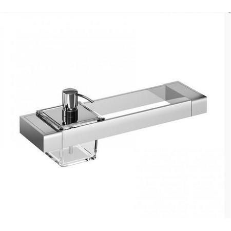 Emco Liaison Zestaw łazienkowy z dozownikiem do mydła 36,6x10,1x14,9 cm, chrom 176500106